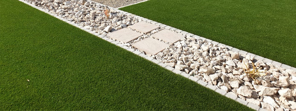 synthetic lawn by elite coastal landscaping